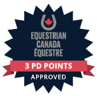 Equestrian Canada Coaching Approved seal