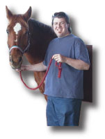 Dr with horse image