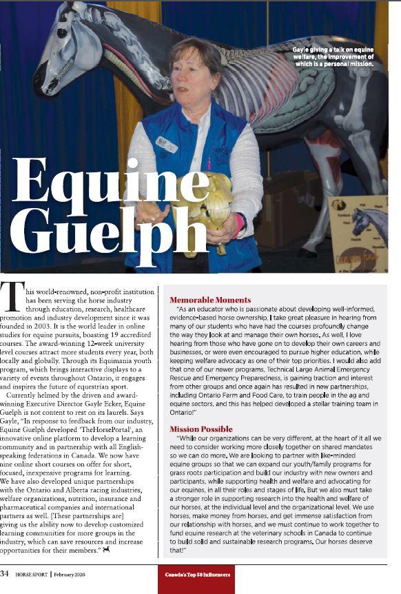 Read Corinthian Horse Sport Magazine article