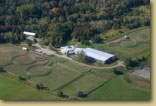 Hop Hill Stable aerial view