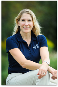 Dr. Melissa McKee, founding partner of McKee-Pownall Equine Services
