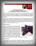(button) Open Horse Health Check - Article information sheet (pdf file)