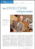 """The Evolutione of Equine Guelph"" article in The Canadian Sportsman"