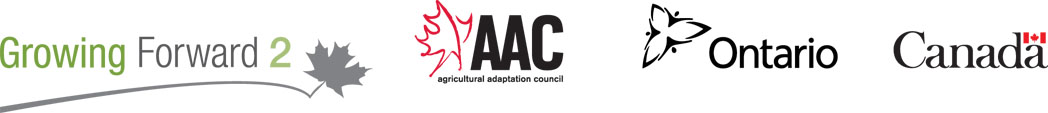 (links) Growing Forward2, AAC, Ontario, Canada logos