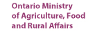 Ontario Ministry of Agriculture, Food and Rural Affairs logo