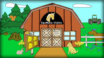 (button) Go to EquiMania! youth horse education website (opens new window)