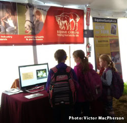 Barn Fire Prevention booth