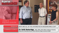 Drs. Beinzle, Betteridge and Hayes Report on Research Video
