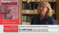 Dr. Judith Koenig Report on Research Video