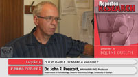 Dr. John F. Prescott Report on Research Video
