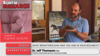 Report on Research - Dr. Jeff Thomason