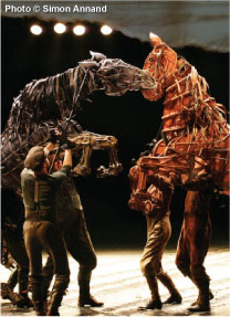 The upcoming 'War Horse' theatrical production will support the new <em>Equine Guelph-OEF 'War Horse' Welfare Education Fund</em>.