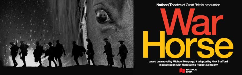 (button) 'War Horse' show schedule