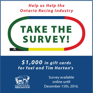 Take the Survey-Ontario Racing Industry Survey button