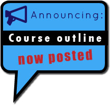 (button) Course Outline Now Posted